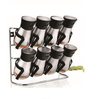 ست ۸ پارچه ادویه ۲ طبقه مدل پینگو استیل کد۳۰۱۱
