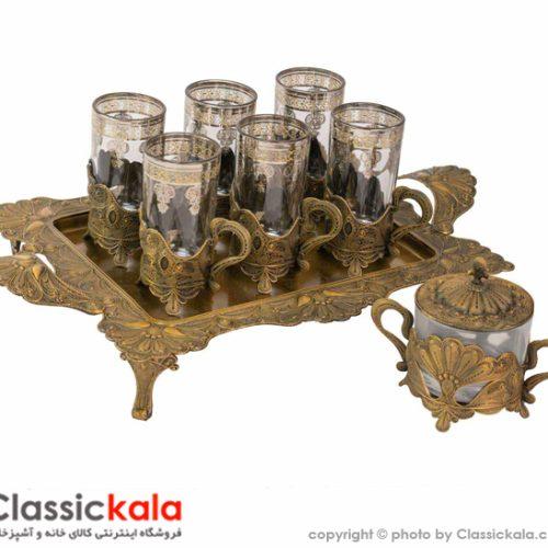 سرویس چای خوری ۸ پارچه سلوین آنتیک مدل ۱۸۴۹۲